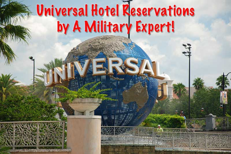 Use a Military Expert for your Universal Studios Vacation!