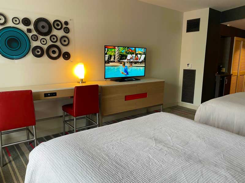 Hard Rock Hotel Guest Rooms