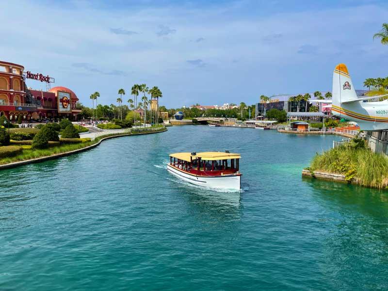 Universal Orlando Resort Water Transportation
